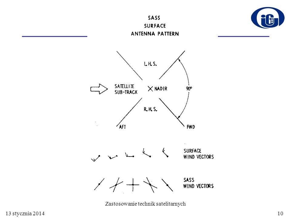 13 stycznia 201410 Zastosowanie technik satelitarnych