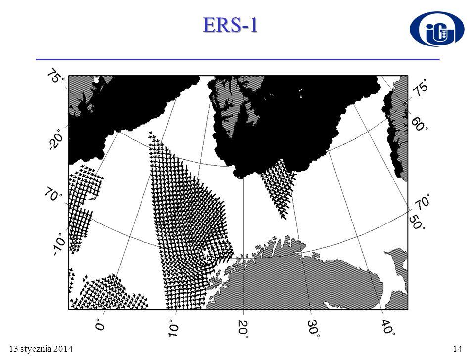 13 stycznia 201414 ERS-1