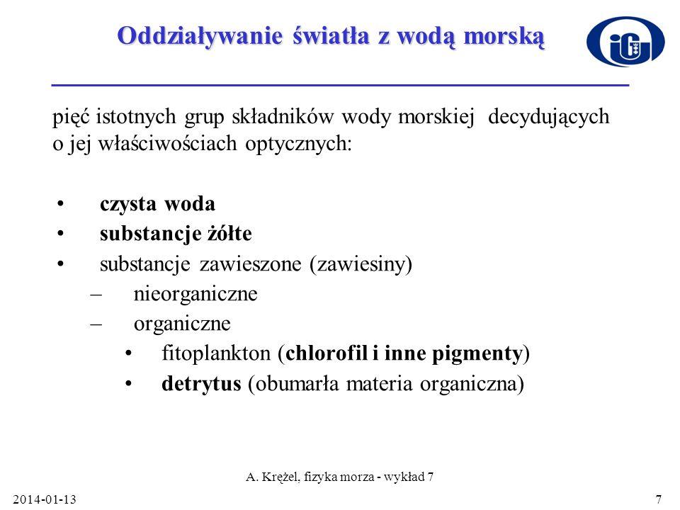 2014-01-13 A. Krężel, fizyka morza - wykład 7 18