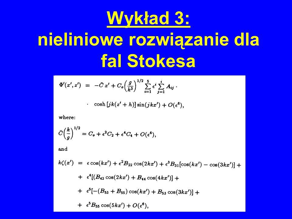Wykład 3: