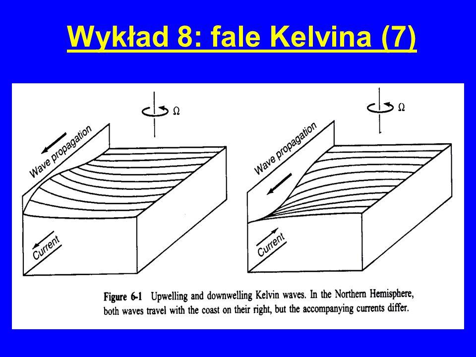 Wykład 8: fale Kelvina (7)
