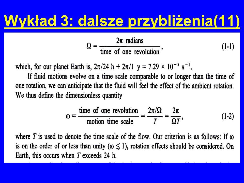 Wykład 3: dalsze przybliżenia(11)