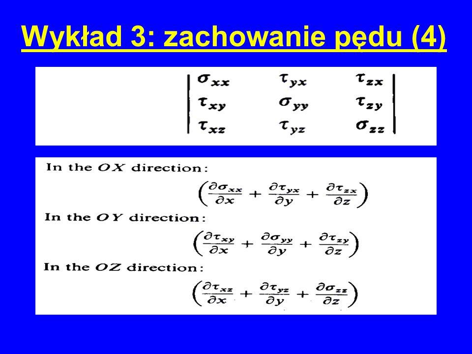 Wykład 3: zachowanie pędu (5)