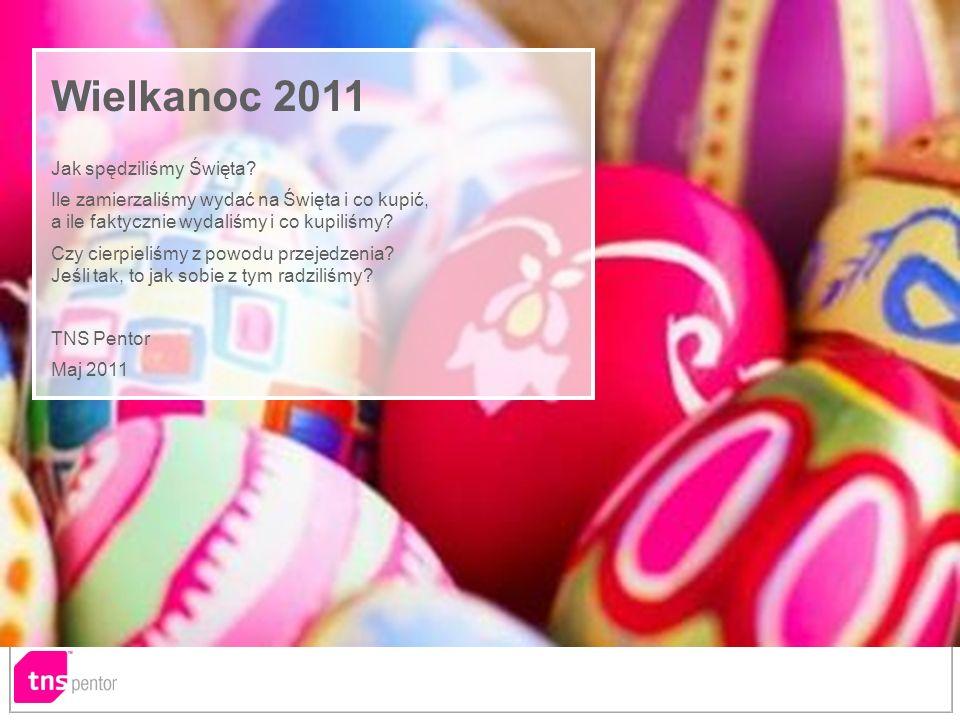 Notka o badaniu Metodologia: Omnibus, f2f, CAPI, in home Próba:N=1015, losowo–warstwowa reprezentatywna próba mieszkańców Polski 15+ Daty realizacji:4–9.04.2011(fala PRZED Wielkanocą) / 9–16.05.2011(fala PO Wielkanocy) Omnibus realizowany w TNS Pentor to nie tylko możliwość zadania pytań reprezentatywnej próbie Polaków 15+; nie tylko wywiad realizowany na laptopie (a więc chociażby możliwość zaprezentowania respondentom dowolnych materiałów multimedialnych); to również wzbogacenie uzyskiwanych wyników o profile psychograficzne respondentów (konfiguracje cech związanych ze stylem życia, orientacją na pewne systemy wartości czy pewne cechy osobowości badanych).