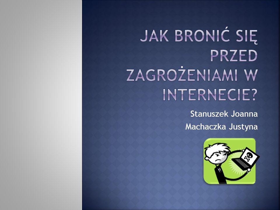 Stanuszek Joanna Machaczka Justyna