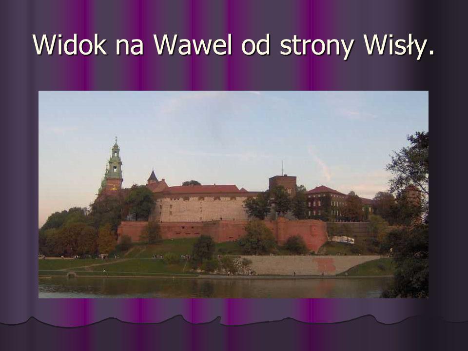 Widok na Wawel od strony Wisły.
