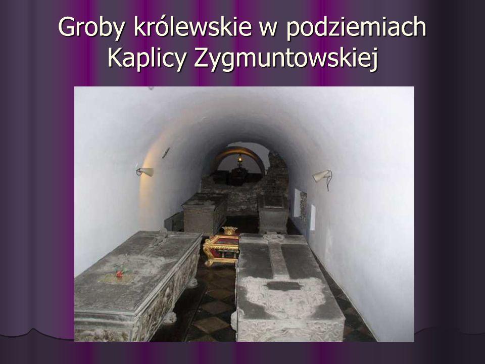 Groby królewskie w podziemiach Kaplicy Zygmuntowskiej