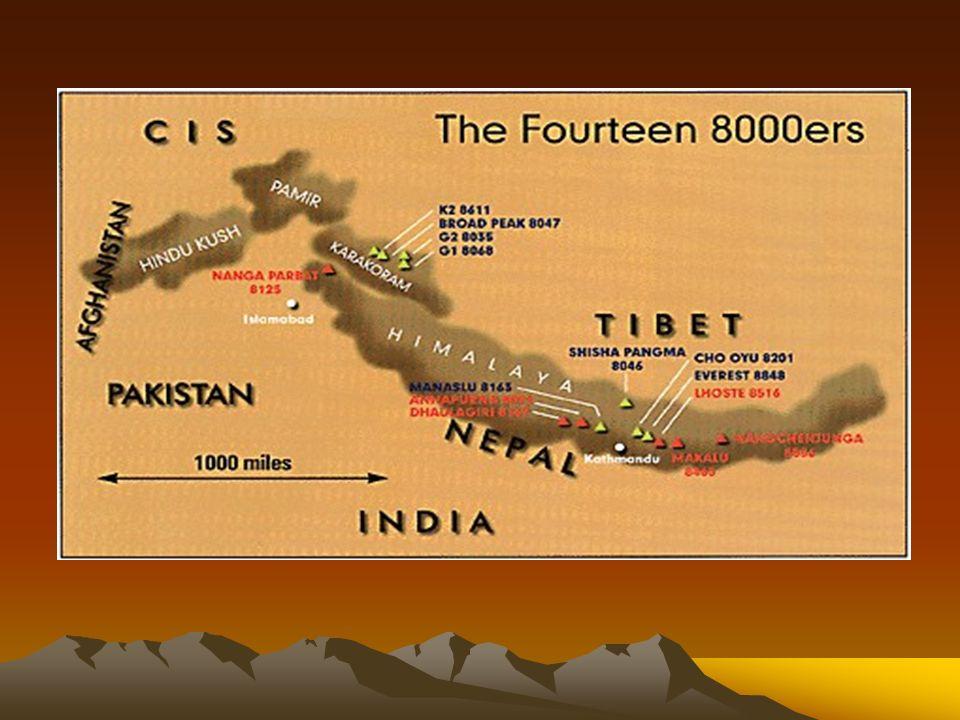 Mount Everest Mount Everest jest najwyższym szczytem na Ziemi, ale nadal trwają spory co do jego wysokości.