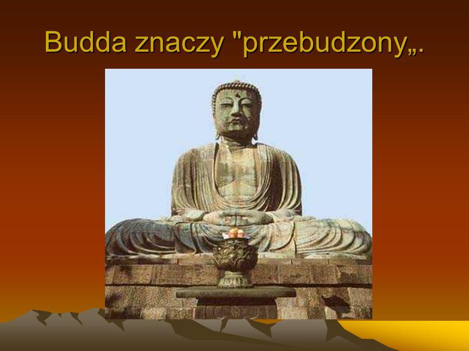 Budda znaczy