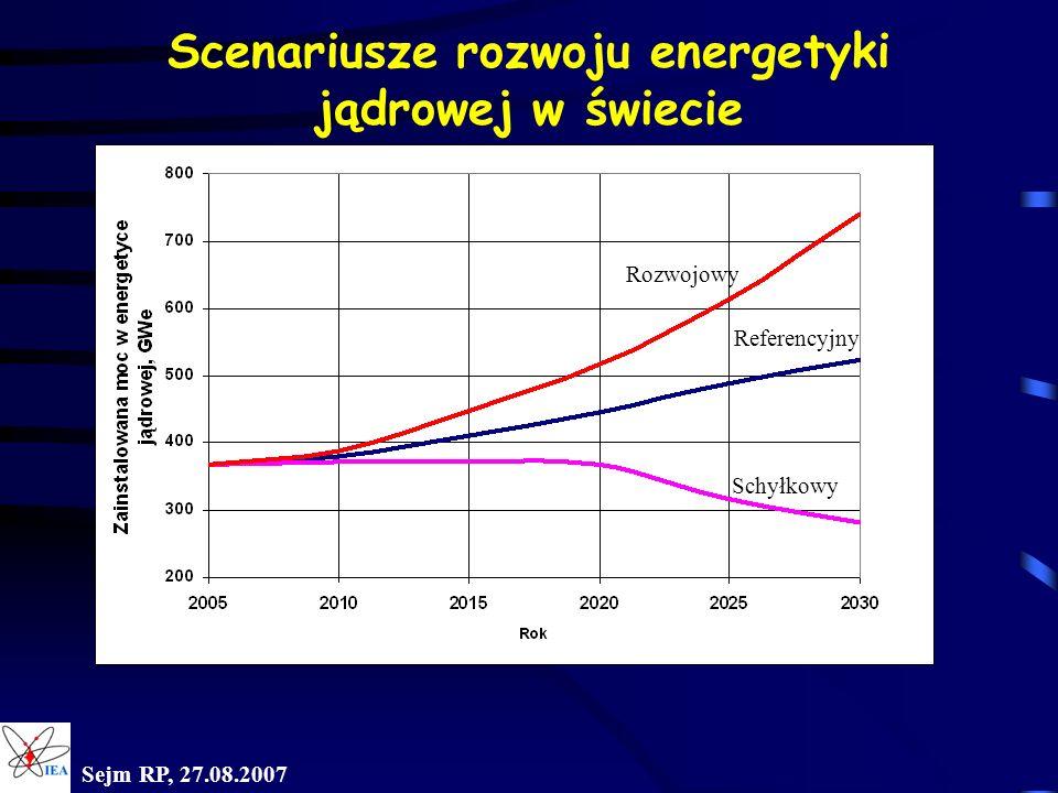 Wartość produktu z wykorzystaniem 1 tony węgla kamiennego Sejm RP, 27.08.2007