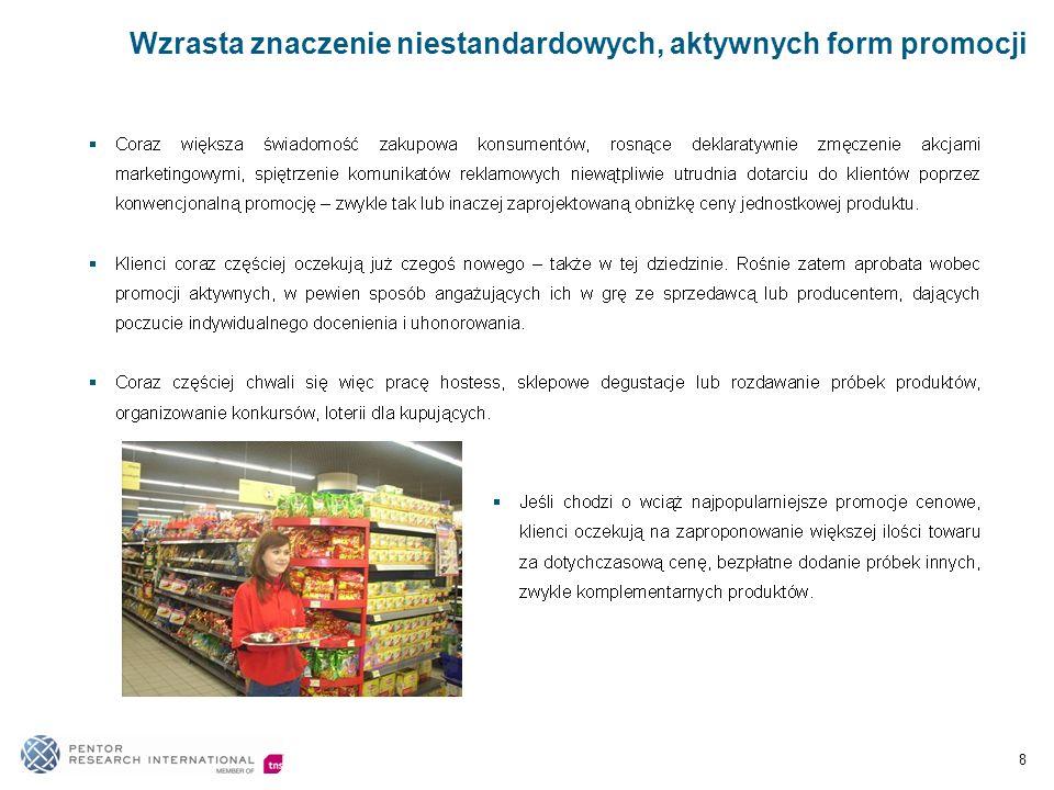 Osoby odpowiedzialne za zakup produktów spożywczych i codziennego użytku w gospodarstwie domowym 9