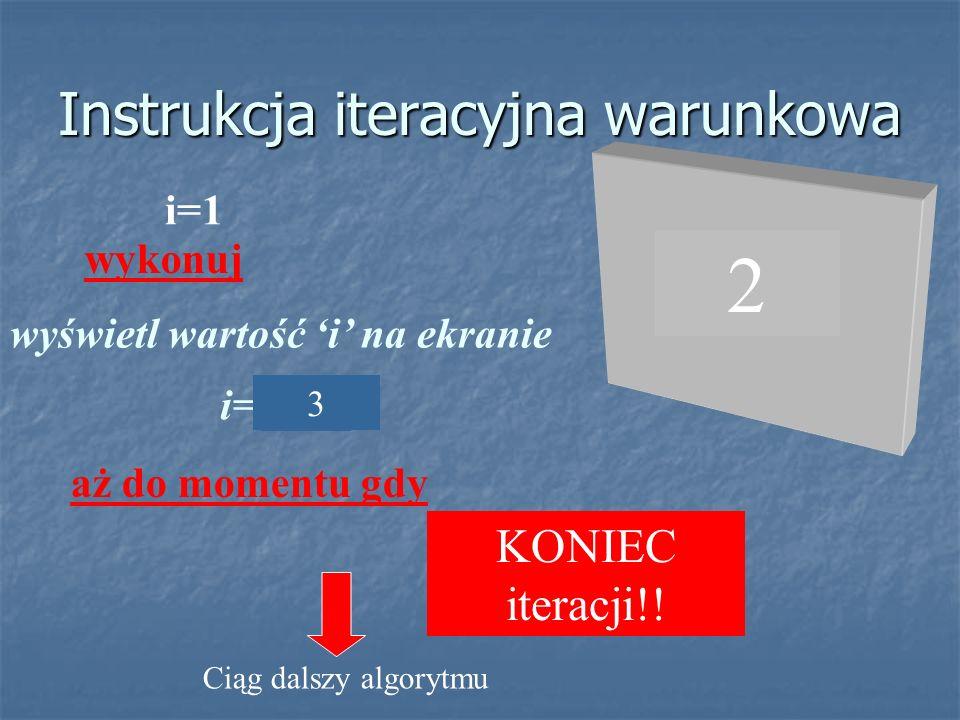 instrukcja grupująca instrukcja ta zamiast słów kluczowych używa symboli nawiasu klamrowego i ma postać: { instrukcja 1 a następnie instrukcja 2 a następnie...