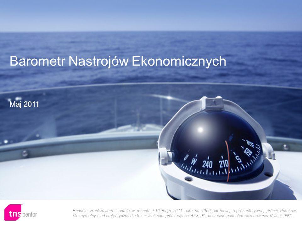 1 Badanie zrealizowane zostało w dniach 9-16 maja 2011 roku na 1000 osobowej reprezentatywnej próbie Polaków.
