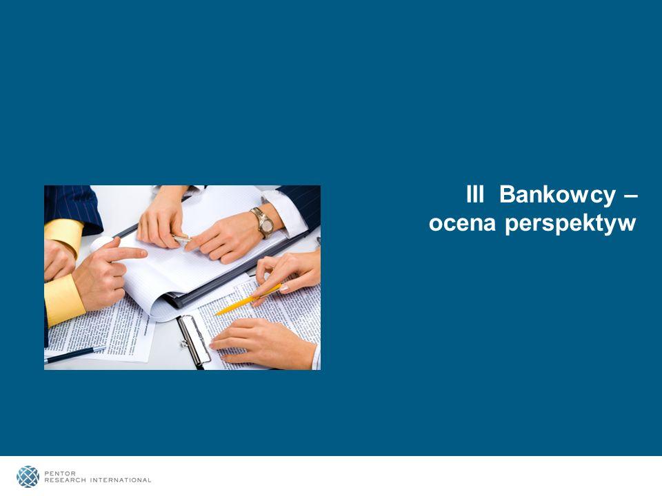 15 III Bankowcy – ocena perspektyw