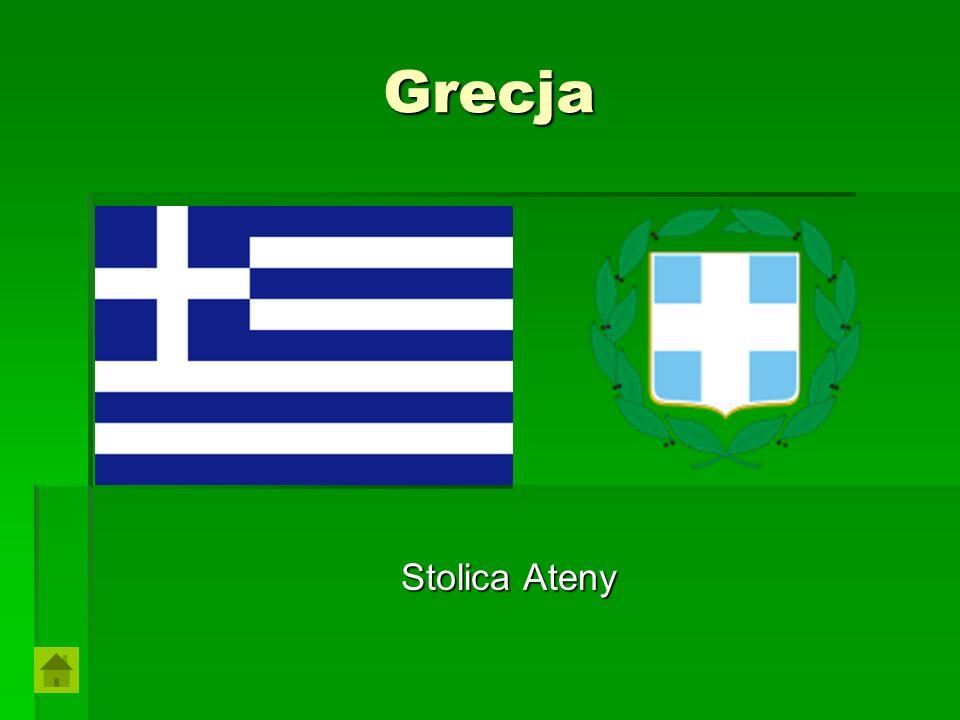 Grecja Stolica Ateny