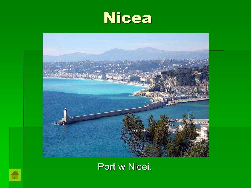 Nicea Port w Nicei.