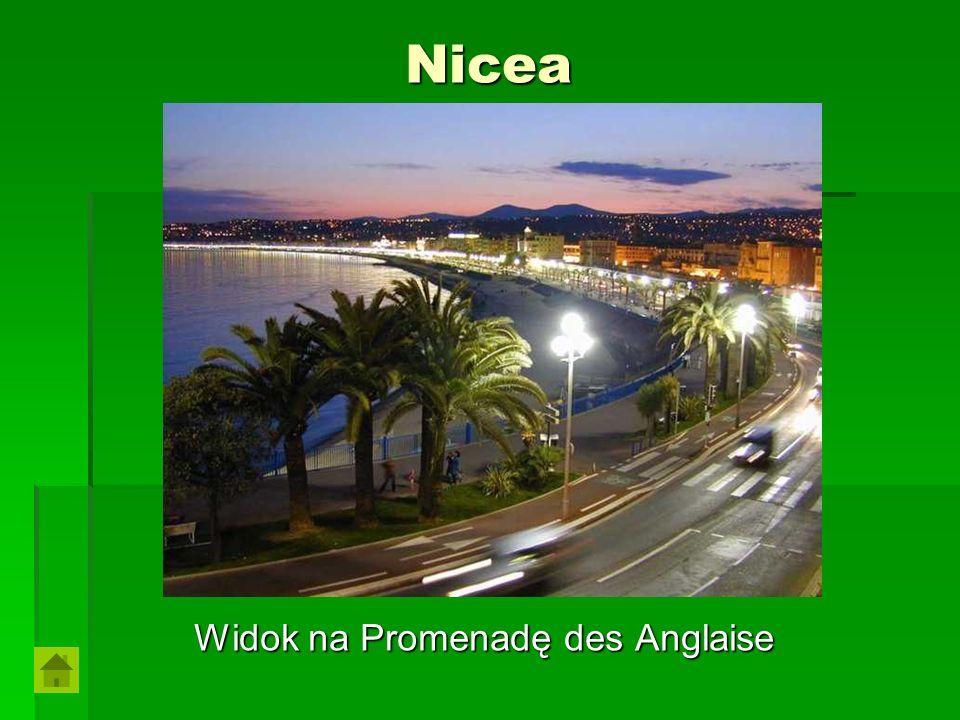 Nicea Widok na Promenadę des Anglaise
