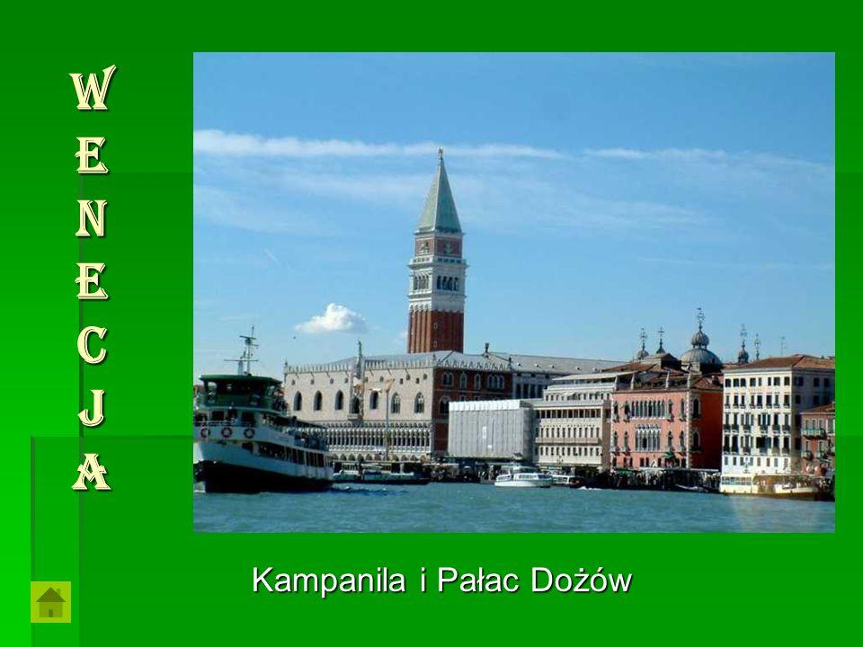 Kampanila i Pałac Dożów WenecjaWenecjaWenecjaWenecja