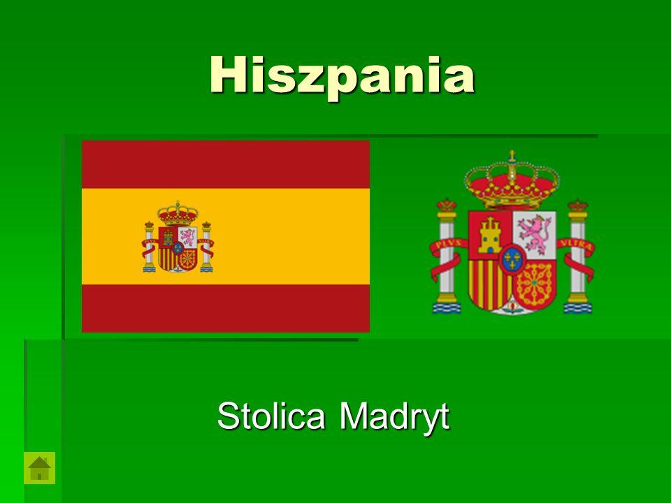 Hiszpania Stolica Madryt