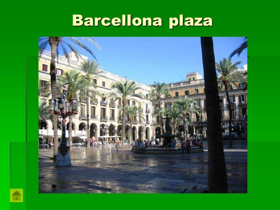 Barcellona plaza