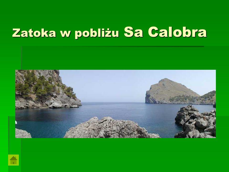Zatoka w pobliżu Sa Calobra