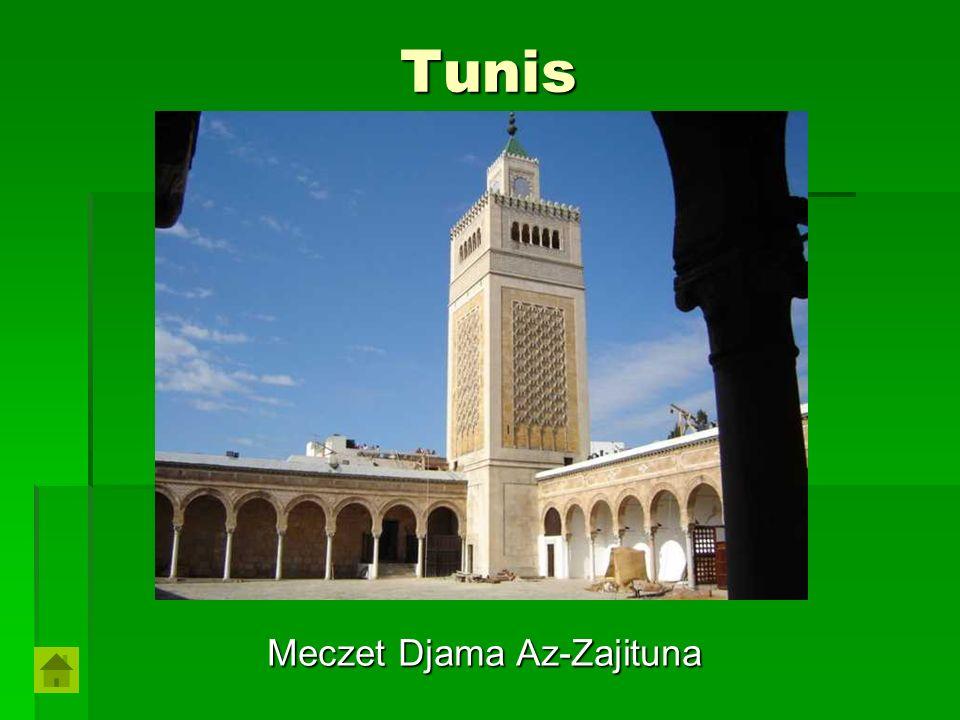 Tunis Meczet Djama Az-Zajituna