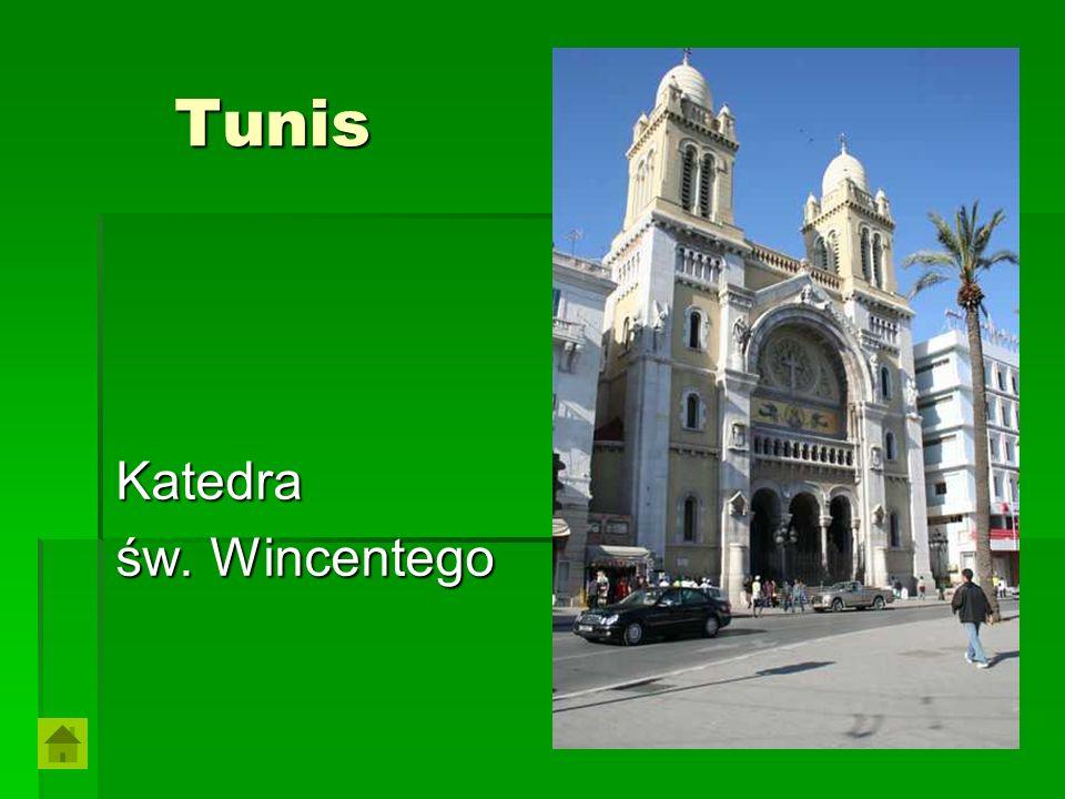 Tunis Katedra św. Wincentego