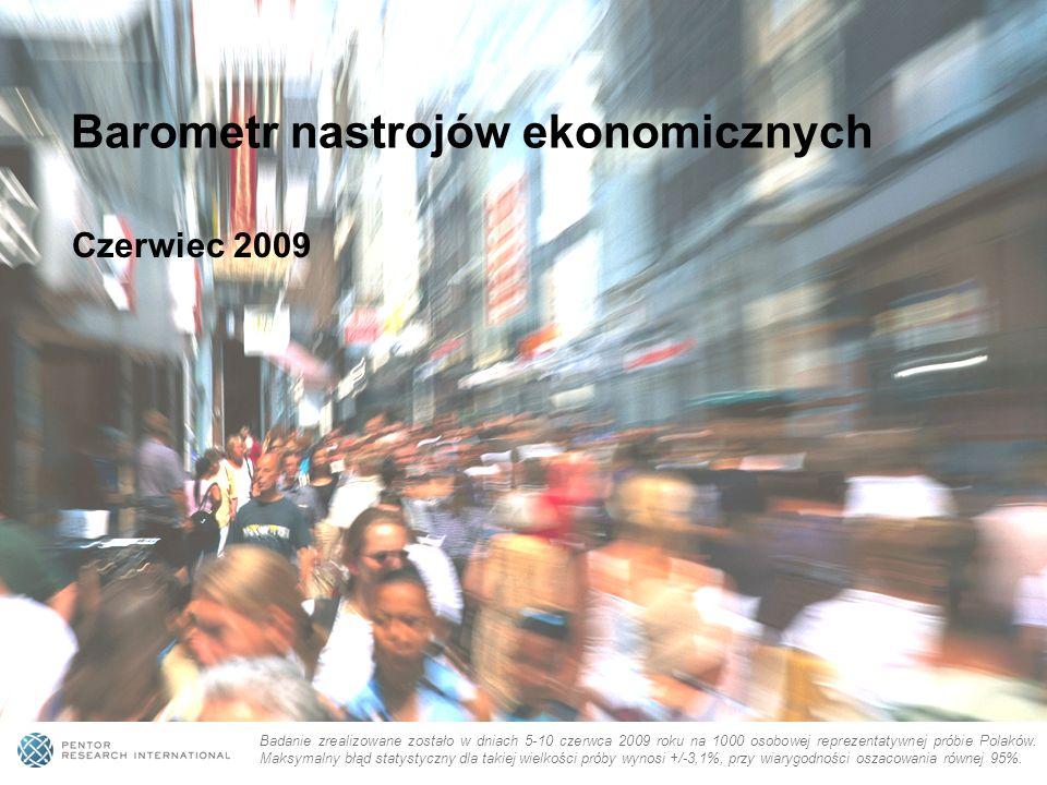 Badanie zrealizowane zostało w dniach 5-10 czerwca 2009 roku na 1000 osobowej reprezentatywnej próbie Polaków.