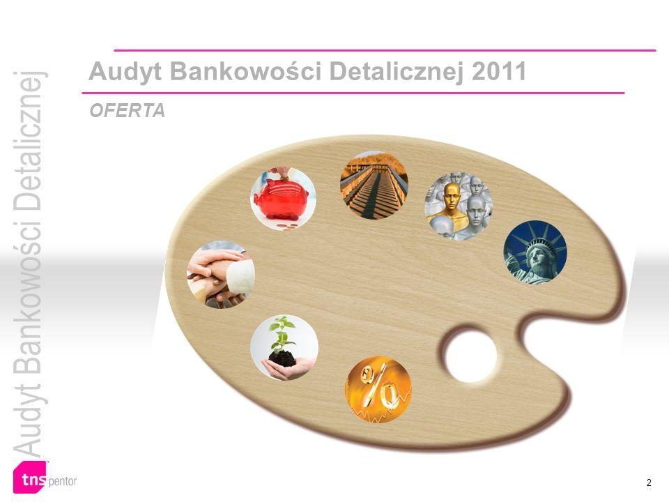 2 Audyt Bankowości Detalicznej 2011 OFERTA