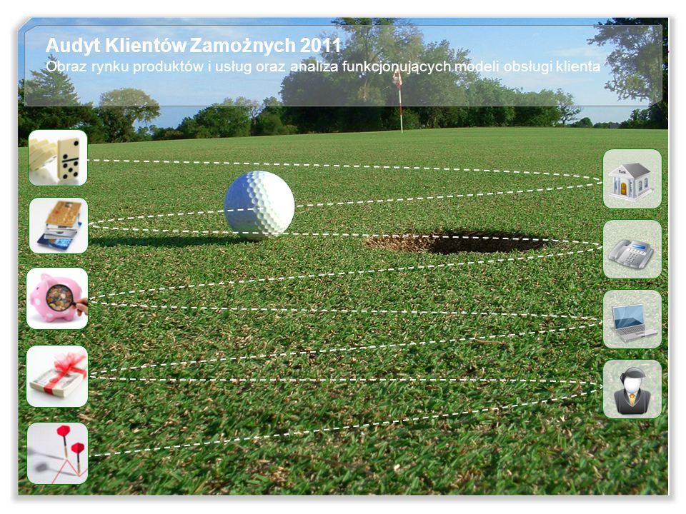 2 Audyt Klientów Zamożnych 2011 Obraz rynku produktów i usług oraz analiza funkcjonujących modeli obsługi klienta