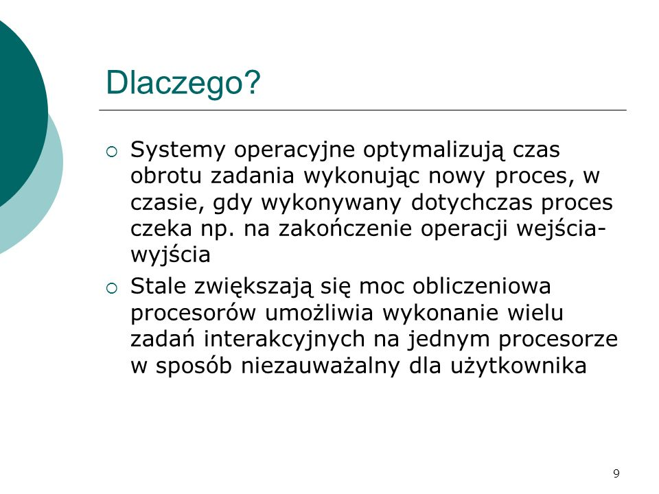 210 Komunikacja klient - serwer KLIENT (zablokowany) SERWER 2.przetwarzanie 1.