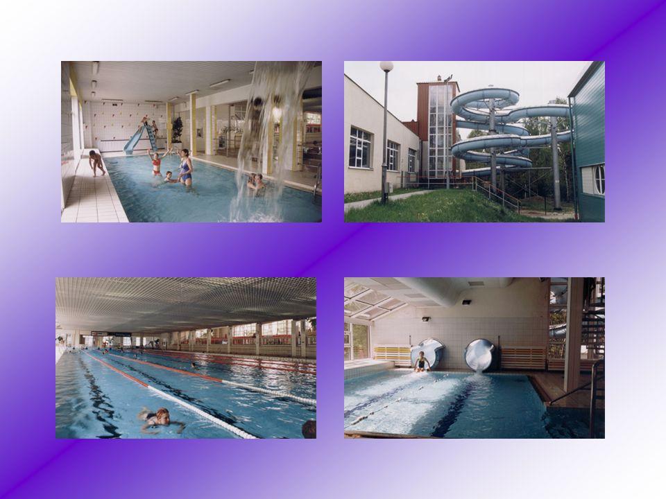 Kryta pływalnia Jest to jeden rozmiarach najnowocześniejszych tego typu obiektów sportowych rozmiarach kraju. Basen o wymiarach olimpijskich, zaplecze