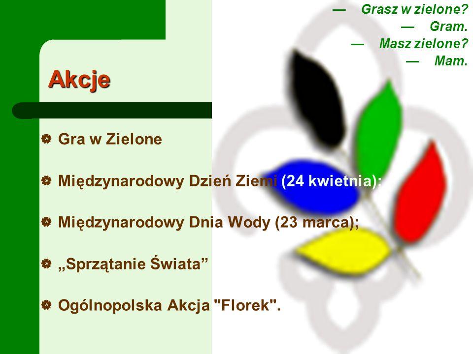 Linki: Klub Gaja http://www.klubgaja.pl/ Specjalność ekologiczna http://www.specjalnosci.zhp.pl Klub przyrodników http://www.lkp.org.pl/ http://www.ostrowiec.zhp.pl/frame.php?pokaz=znaki_przyjazni Program- Woda jest życiem http://www.prasa.zhp.pl/c200012/06.html Dzień Ziemi http://mok.przeworsk.org/index.php?option=com_content&task=view&id= 120&Itemid=1 http://mok.przeworsk.org/index.php?option=com_content&task=view&id= 120&Itemid=1 http://www.ecit.przeworsk.org/index.php?option=com_content&task=view &id=40&Itemid=1 http://www.ecit.przeworsk.org/index.php?option=com_content&task=view &id=40&Itemid=1 http://www.przeciek.pl/index.php?modul=niusy_dzialy&jak=menulewy&ka tegoria=28 http://www.przeciek.pl/index.php?modul=niusy_dzialy&jak=menulewy&ka tegoria=28 http://www.gow.com.pl/zl/zielonaliga3/biezacy_00.htm http://klobuck.scholaris.pl/ekolodzy/index.php?pj=projekt http://www.fundacjaarka.pl/