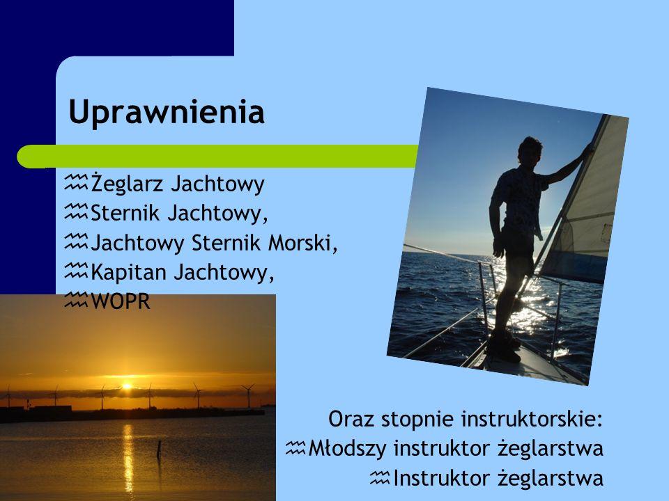Linki: Strona główna specjalności www.specjalnosci.zhp.pl Strona wodniaków www.wodniacy.zhp.pl Uprawnienia www.zeglarstwo.waw.pl/upraw.htm Szanty www.szanty.com.pl