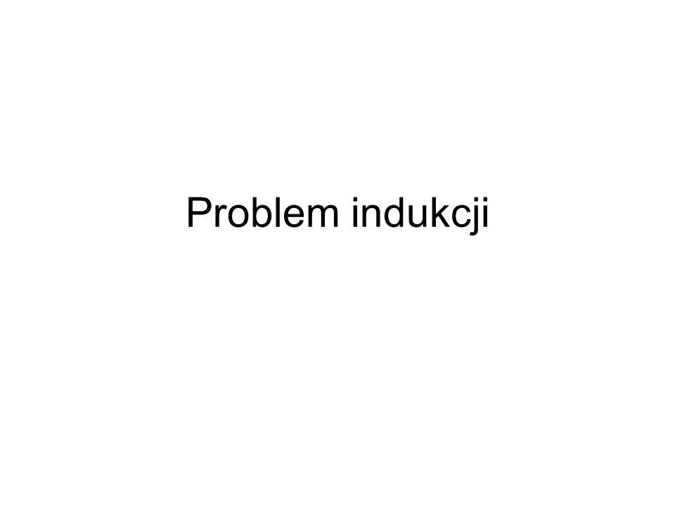 Problem indukcji
