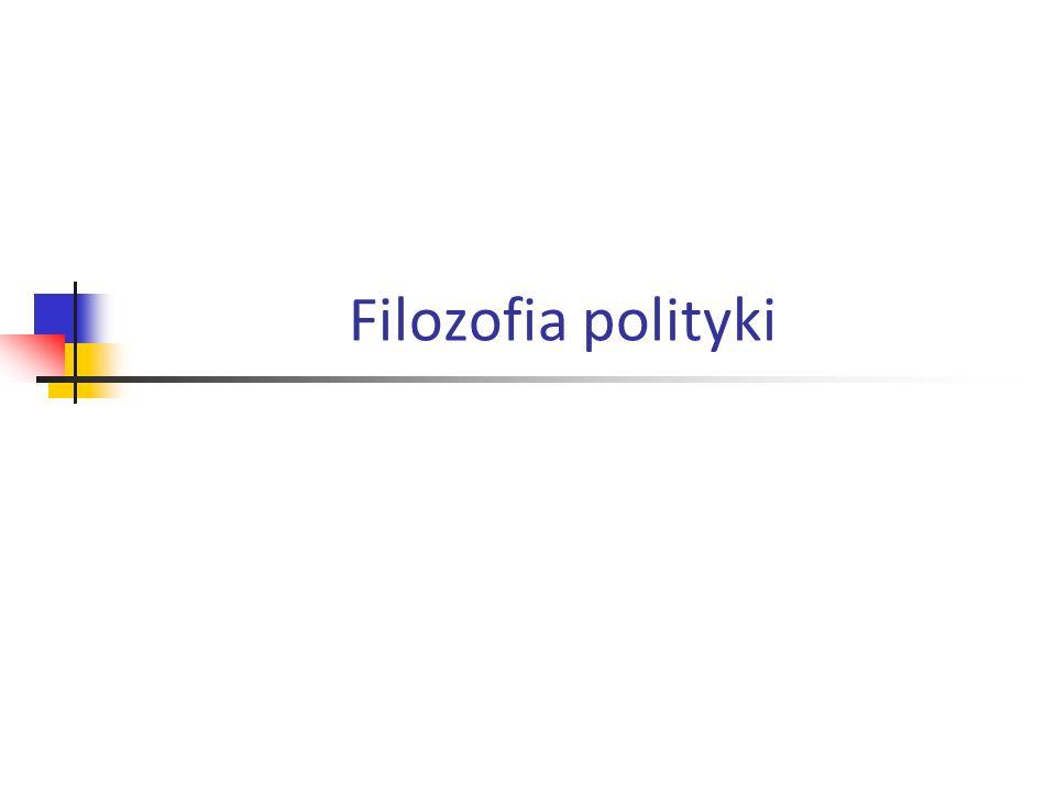 Filozofia polityki