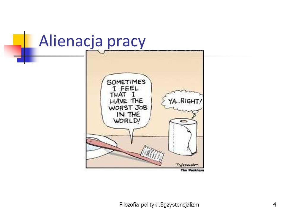 Filozofia polityki.Egzystencjalizm4 Alienacja pracy