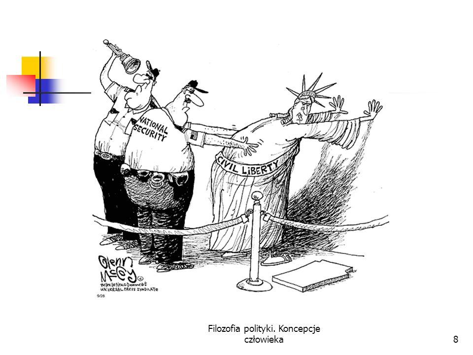 Filozofia polityki. Koncepcje człowieka8