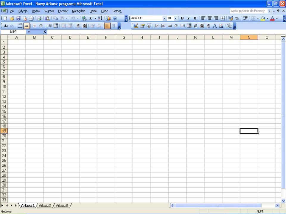 Bibliografia http://pl.wikipedia.org/wiki/Microsoft_Excel http://www.straszewo.q4.pl/excel1.htm http://www.info.ar.szczecin.pl/infod/cw10/cw 10.html