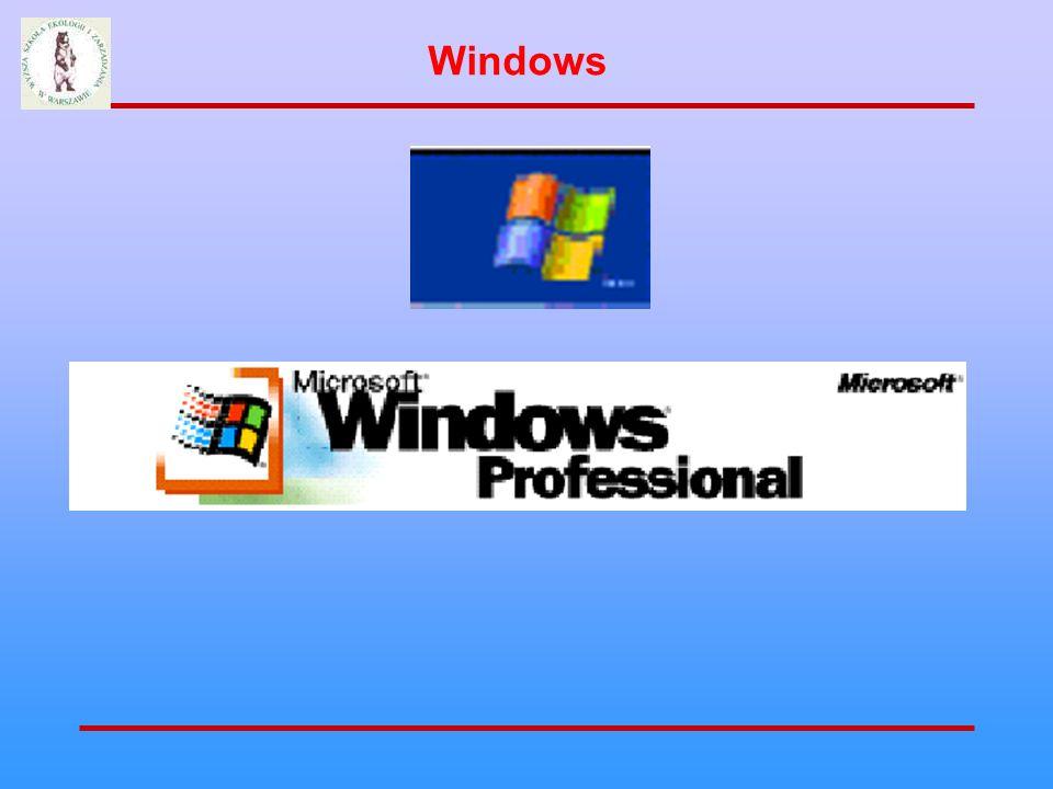 Pasek tytułu Pasek menu Przycisk maksymalizuj Przycisk zamknij Przycisk minimalizuj Przyciski obsługi okna Elementy okna Windows