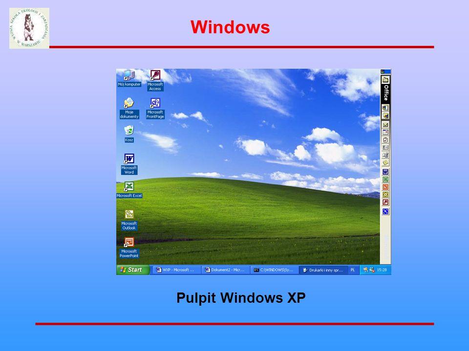 Pasek skrótów Windows