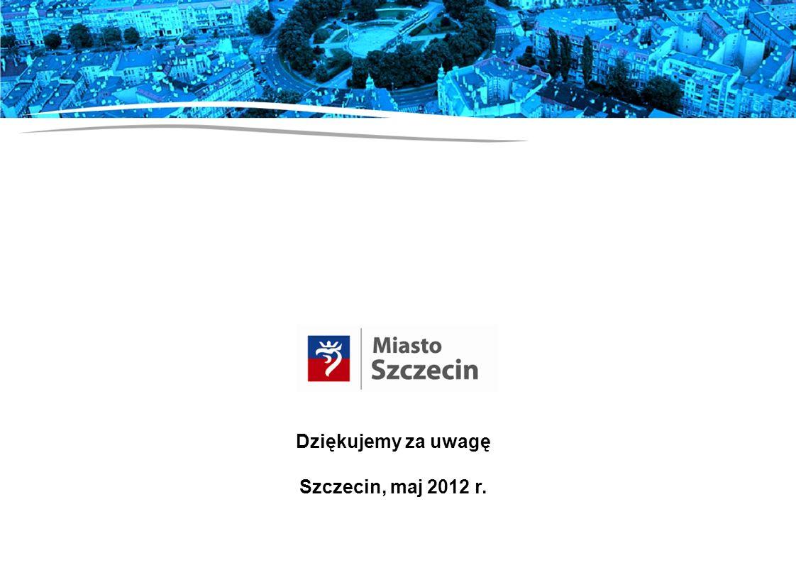 Dziękujemy za uwagę Szczecin, maj 2012 r.