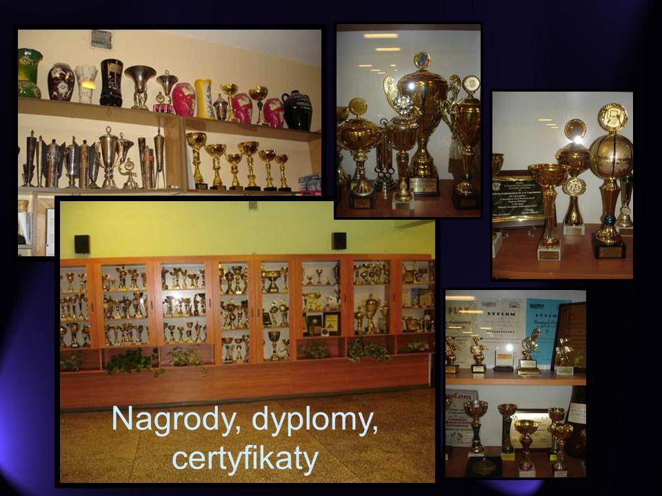 Nagrody, dyplomy, certyfikaty