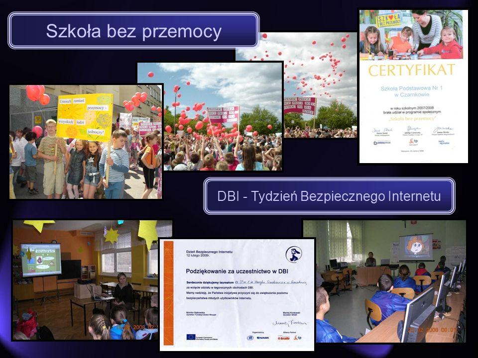 DBI - Tydzień Bezpiecznego Internetu Szkoła bez przemocy