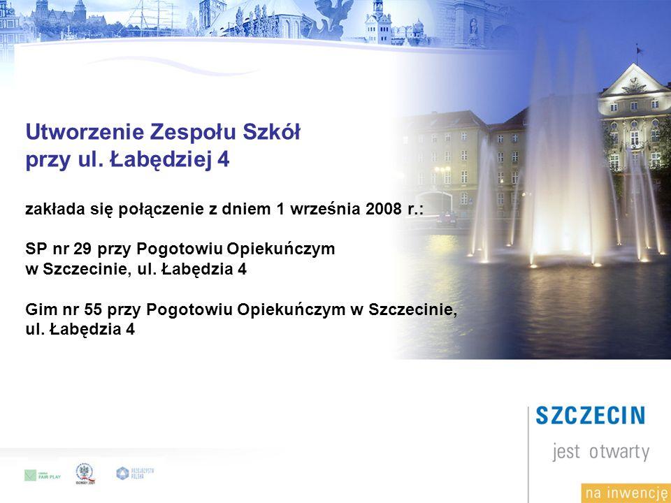 Utworzenie Zespołu Szkół przy ul.