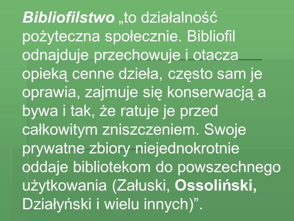 Początki bibliofilstwa w Polsce