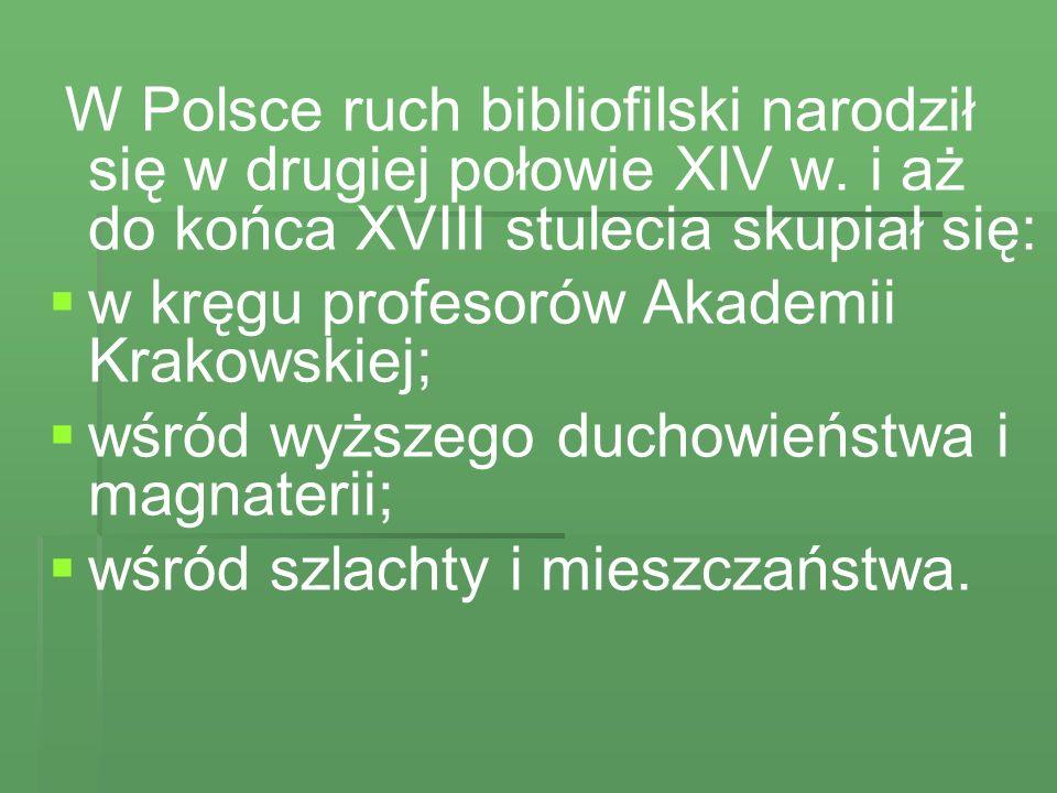 Wiele cennych dzieł napędził Ossolińskiemu do biblioteki Samuel Bogumiła Linde.
