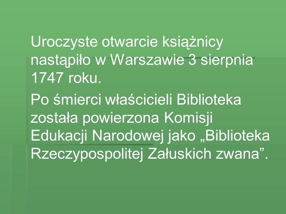 Również księżna Izabela Czartoryska brała książki, których potem nie zwracała.