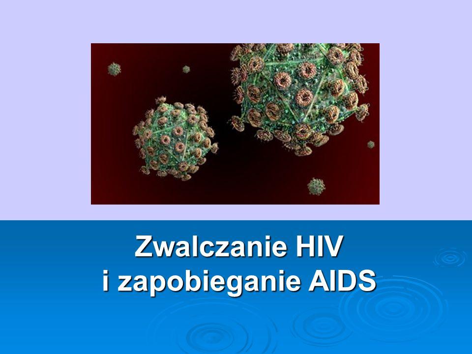 Co to jest AIDS.1.Zespół nabytego upośledzenia odporności 2.Choroba bardzo groźna.