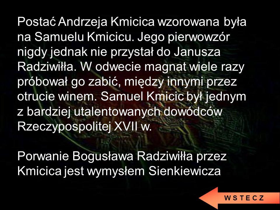 Ze Zbaraża uciekło dwoje ludzi: Skrzetuski i Daniel Czapliński (zagorzały wróg Chmielnickiego) Jeremi Wiśniowiecki nie mógł zwołać pospolitego ruszeni